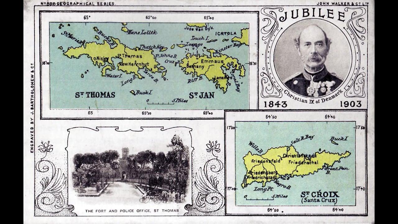 Dansk Vestindien 1900-1917 – En postkorthistorisk rejse