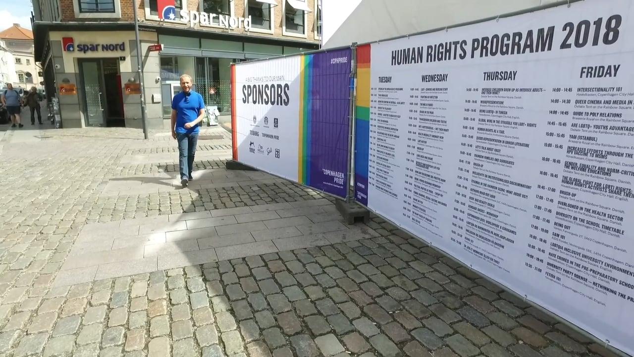 MH2257 Copenhagen Pride 2018 –  Ordet er dit!
