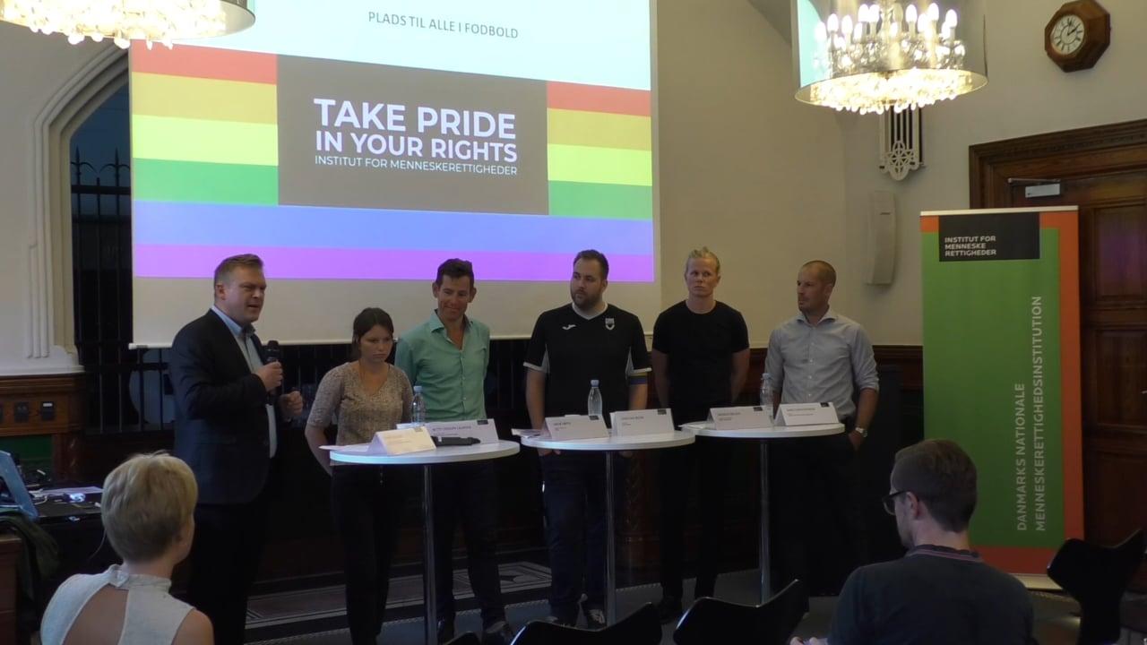 MH2261 Copenhagen Pride 2018 –  Plads til alle i fodbold – også LGBT